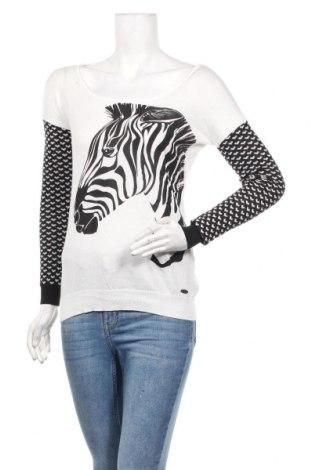 Дамски пуловер Kaporal, Размер XS, Цвят Бял, Памук, Цена 36,40лв.