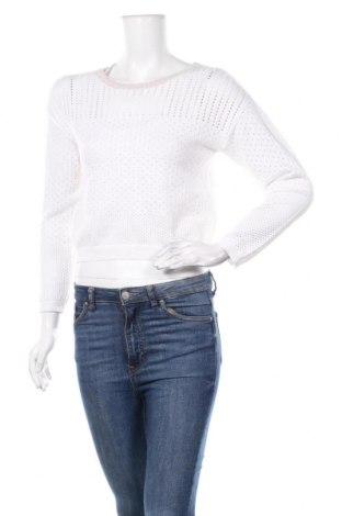 Дамски пуловер Kaporal, Размер M, Цвят Бял, Памук, Цена 43,40лв.