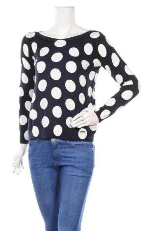 Дамски пуловер Liu Jo, Размер S, Цвят Син, 57% памук, 43% вискоза, Цена 79,20лв.