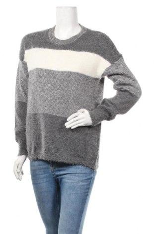 Дамски пуловер Nkd, Размер M, Цвят Сив, 70% полиестер, 20% акрил, 10% метални нишки, Цена 23,94лв.
