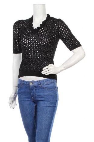 Γυναικείο πουλόβερ Noa Noa, Μέγεθος S, Χρώμα Μαύρο, Τιμή 11,38€