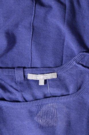 Дамски пуловер Somewhere, Размер L, Цвят Лилав, 55% лен, 45% памук, Цена 26,68лв.
