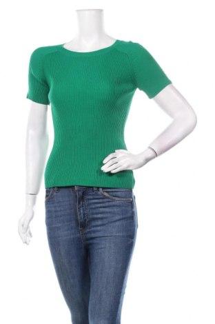 Дамски пуловер TWINSET, Размер S, Цвят Зелен, 65% вискоза, 35% полиамид, Цена 116,35лв.