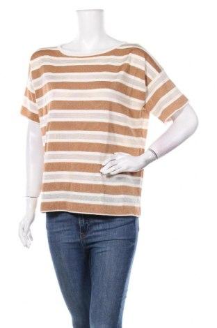 Дамски пуловер TWINSET, Размер S, Цвят Многоцветен, 50% вискоза, 36% памук, 6% полиестер, 6% полиамид, Цена 109,85лв.