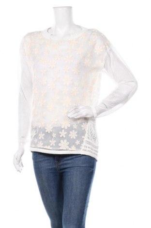 Дамски пуловер TWINSET, Размер XS, Цвят Бял, Памук, полиамид, полиестер, Цена 103,35лв.