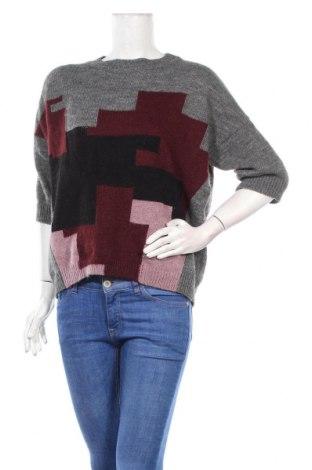 Дамски пуловер Un Deux Trois, Размер M, Цвят Сив, 50% акрил, 14% вълна, 14% вълна от алпака, 10% вискоза, 8% полиамид, 4% мохер, Цена 96,75лв.