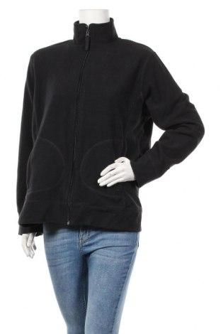 Дамско поларено горнище Carla, Размер XL, Цвят Черен, Полиестер, Цена 11,97лв.