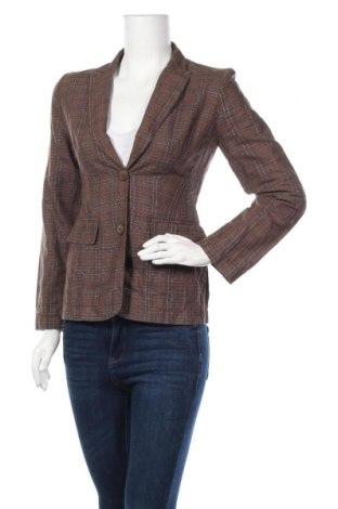 Γυναικείο σακάκι Capasca, Μέγεθος XXS, Χρώμα Καφέ, 99% λινό, 1% μεταλλικά νήματα, Τιμή 6,37€