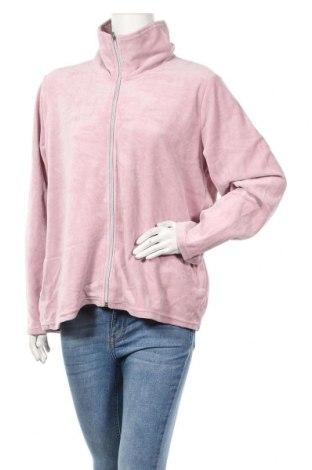 Дамско спортно горнище Andrea, Размер XXL, Цвят Пепел от рози, 80% памук, 20% полиестер, Цена 17,33лв.