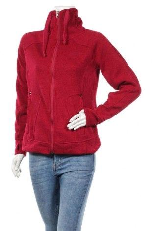 Дамско спортно горнище Avalanche, Размер S, Цвят Червен, Полиестер, Цена 26,46лв.