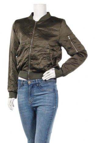 Дамско яке Ambiance, Размер S, Цвят Зелен, 100% полиестер, Цена 32,13лв.