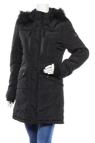 Дамско яке Geographical Norway, Размер M, Цвят Черен, Полиестер, акрил, Цена 119,07лв.