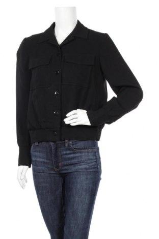 Дамско яке Massimo Dutti, Размер M, Цвят Черен, Вискоза, Цена 8,94лв.