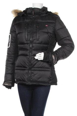 Дамско яке за зимни спортове Geographical Norway, Размер L, Цвят Черен, Полиестер, Цена 112,77лв.