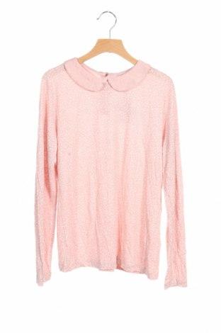 Детска блуза Litlle Karl Marc John, Размер 14-15y/ 168-170 см, Цвят Розов, Вискоза, Цена 29,40лв.