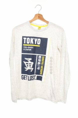 Детска блуза Y.F.K., Размер 12-13y/ 158-164 см, Цвят Сив, 75% полиестер, 25% памук, Цена 26,46лв.