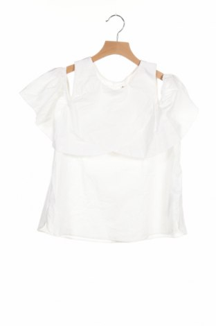Παιδική μπλούζα Zara Kids, Μέγεθος 13-14y/ 164-168 εκ., Χρώμα Λευκό, Βαμβάκι, Τιμή 5,10€
