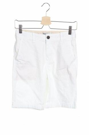 Παιδικό κοντό παντελόνι Abercrombie Kids, Μέγεθος 13-14y/ 164-168 εκ., Χρώμα Λευκό, 97% βαμβάκι, 3% ελαστάνη, Τιμή 18,25€