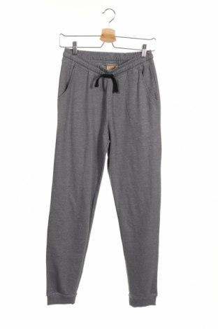 Детски спортен панталон Manor, Размер 12-13y/ 158-164 см, Цвят Сив, 60% полиестер, 40% памук, Цена 17,56лв.