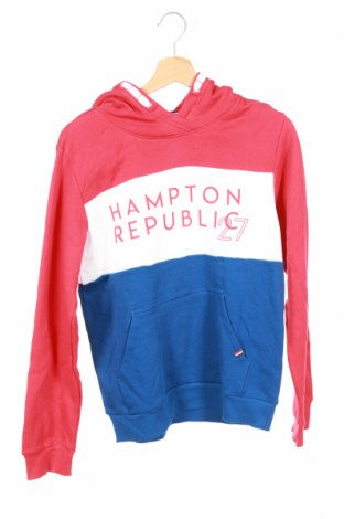 Детски суичър Hampton Republic, Размер 14-15y/ 168-170 см, Цвят Многоцветен, 80% памук, 20% полиестер, Цена 30,71лв.