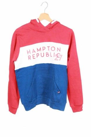 Детски суичър Hampton Republic, Размер 14-15y/ 168-170 см, Цвят Многоцветен, 80% памук, 20% полиестер, Цена 19,79лв.