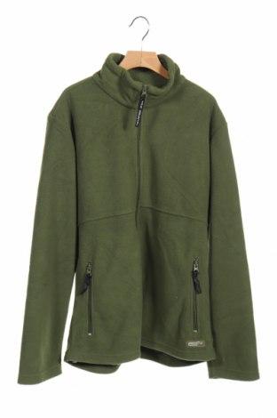 Детско поларено горнище Wild Country, Размер 13-14y/ 164-168 см, Цвят Зелен, Полиестер, Цена 16,63лв.
