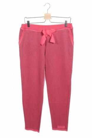 Детско спортно долнище TWINSET, Размер 15-18y/ 170-176 см, Цвят Розов, 80% памук, 20% полиестер, Цена 62,30лв.