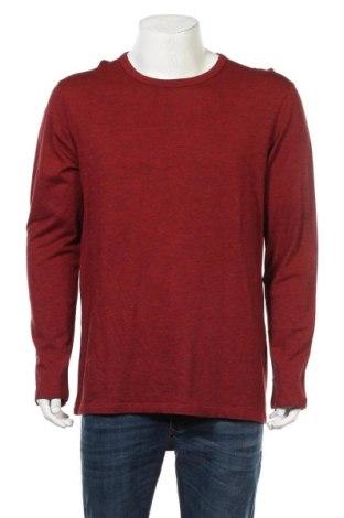 Мъжка блуза Heidi, Размер XL, Цвят Червен, 50% памук, 50% модал, Цена 18,95лв.