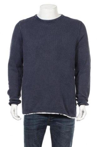 Мъжка блуза Jean Pascale, Размер XXL, Цвят Син, Памук, Цена 18,95лв.