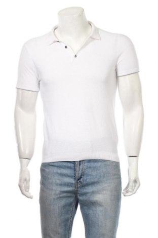 Мъжка блуза Massimo Dutti, Размер S, Цвят Бял, 100% памук, Цена 27,04лв.