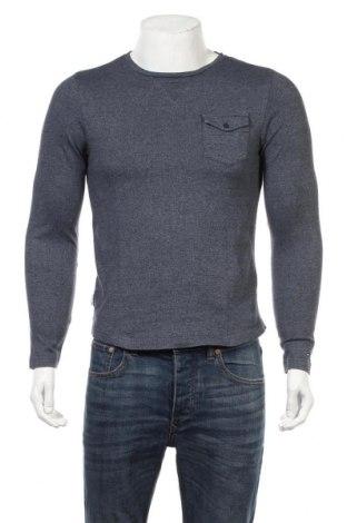 Мъжка блуза Tommy Hilfiger, Размер S, Цвят Син, Памук, Цена 44,89лв.