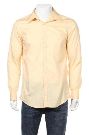 Мъжка риза Abrams, Размер L, Цвят Жълт, Цена 24,96лв.