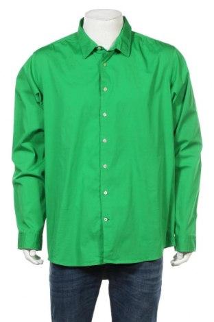 Мъжка риза Abrams, Размер XXL, Цвят Зелен, Памук, Цена 17,01лв.