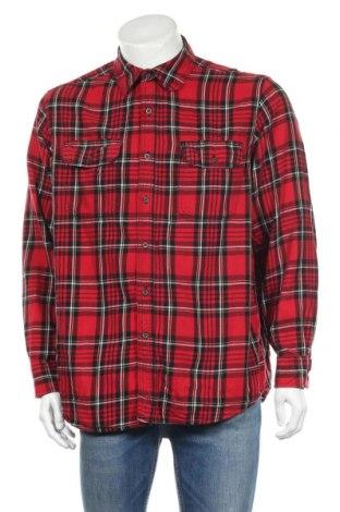 Мъжка риза Faded Glory, Размер L, Цвят Многоцветен, Памук, Цена 14,18лв.