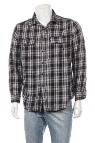 Мъжка риза Faded Glory, Размер L, Цвят Многоцветен, Памук, Цена 13,39лв.