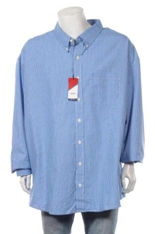 Мъжка риза Izod, Размер 5XL, Цвят Син, Памук, Цена 25,94лв.