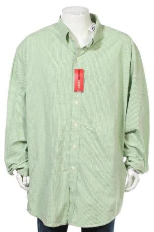Мъжка риза Izod, Размер 5XL, Цвят Зелен, Памук, Цена 31,92лв.