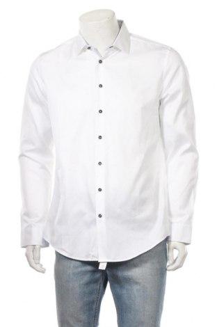 Мъжка риза Jacques Britt, Размер L, Цвят Бял, Памук, Цена 24,94лв.