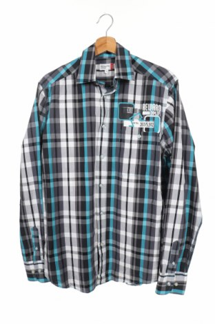 Мъжка риза Nkd, Размер S, Цвят Многоцветен, Памук, Цена 16,96лв.
