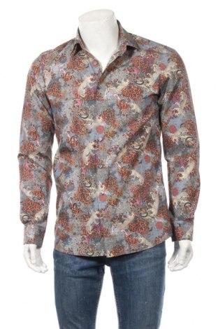 Мъжка риза Olymp, Размер M, Цвят Многоцветен, Памук, Цена 14,96лв.