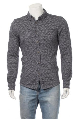Мъжка риза Scotch & Soda, Размер M, Цвят Син, Памук, Цена 48,88лв.