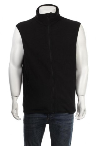 Мъжки поларен елек Atrium, Размер XXL, Цвят Черен, Полиестер, Цена 19,93лв.