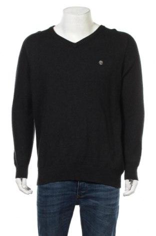 Мъжки пуловер Timberland, Размер XL, Цвят Черен, 33% вискоза, 23% полиамид, 20% памук, 20% вълна, 4% кашмир, Цена 41,90лв.
