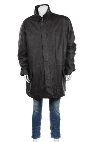 Мъжко кожено яке, Размер 5XL, Цвят Кафяв, Естествена кожа, Цена 83,98лв.