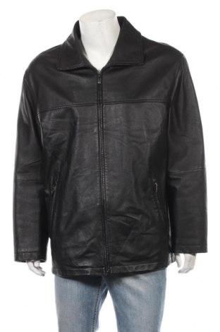 Мъжко кожено яке Canda, Размер L, Цвят Черен, Естествена кожа, Цена 85,93лв.
