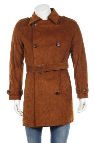 Ανδρικά παλτό About You, Μέγεθος L, Χρώμα Καφέ, Βαμβάκι, Τιμή 26,70€