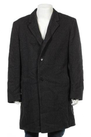 Мъжко палто Abrams, Размер XL, Цвят Сив, 80% вълна, 20% полиамид, Цена 76,76лв.
