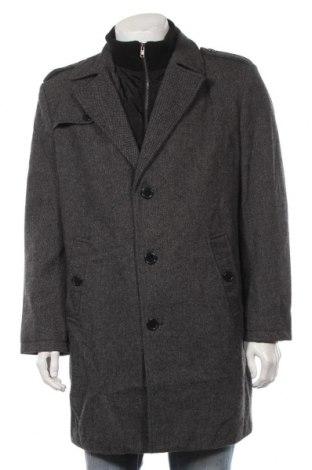 Ανδρικά παλτό Bexleys, Μέγεθος XL, Χρώμα Μαύρο, 70% πολυεστέρας, 30% μαλλί, Τιμή 36,40€
