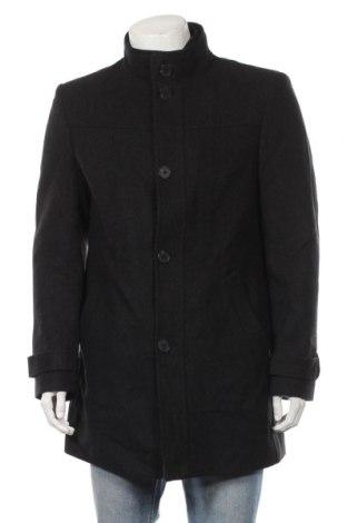 Ανδρικά παλτό Bexleys, Μέγεθος L, Χρώμα Μαύρο, 60% μαλλί, 30% πολυεστέρας, 10% άλλα υλικά, Τιμή 33,93€