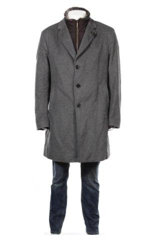 Ανδρικά παλτό Joop!, Μέγεθος XL, Χρώμα Γκρί, 75% μαλλί, 20% πολυαμίδη, 5% κασμίρι, Τιμή 190,65€